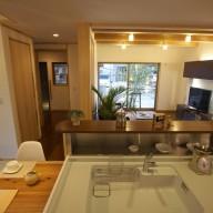 キッチンを中心とした家事動線に優れた住い