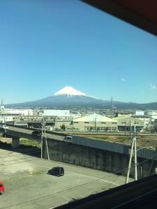 新幹線・富士山 (1)